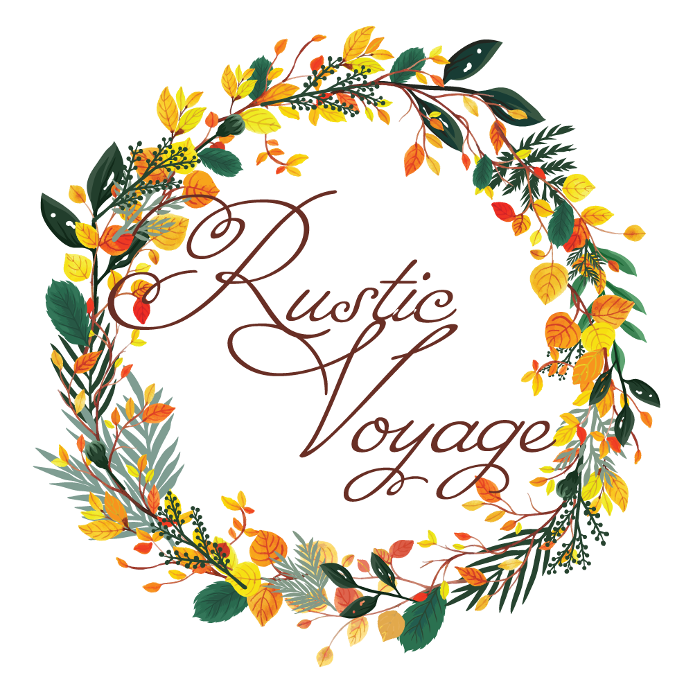 Rustic Voyage Logo and Website