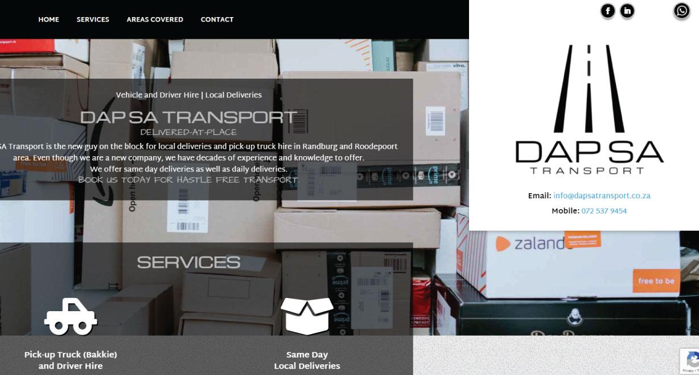 DAP SA Transport Deliver At Place