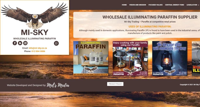 Mi-Sky Wholesale Illuminating Paraffin Supplier