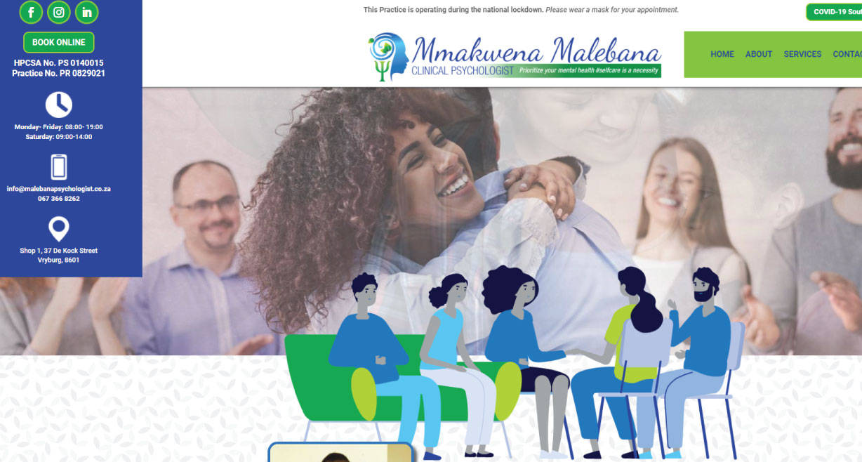 Mmakwena Malebana Clinical Psychologist