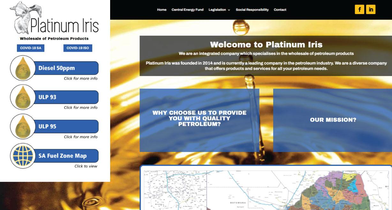 Platinum Iris Petroleum Wholesaler