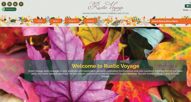 Rustic Voyage Vintage Retro Fashion